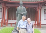 Lynda and Charles in China