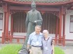 Lynda and Charles in China